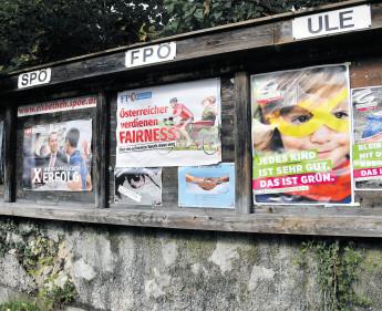 Wahlwerbung 2017: Ein Stronach fehlt