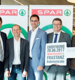 Neuer Eurospar-Markt in Frastanz