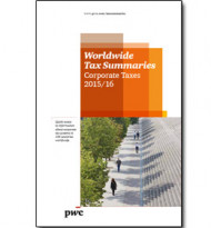 Für Steuerexperten: Worldwide Tax Summaries 2016