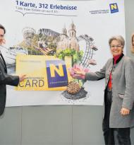 Saisonstart für die NÖ Card