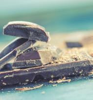 Schokolade steht für Glück und Wellness