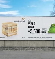 Holz ist genial-Kampagne
