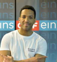 """63. Song Contest: Cesar Sampson startet mit """"Nobody but You"""""""