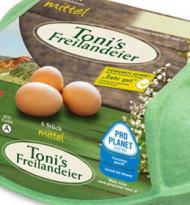 Rewe kauft Marke Toni's Freilandeier