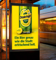 """""""Ein Bier genau wie die Stadt"""""""