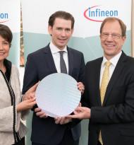 Infineon investiert 1,6 Mrd. Euro in neue 300 Millimeter-Chipfabrik in Österreich
