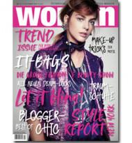 "Ab sofort im Handel: Das große ""Woman""‐Trendheft."