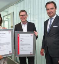 TÜV Austria vergibt erste ISO 55001-Zertifizierung