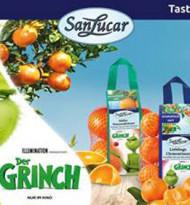SanLucar bringt den Grinch in Weihnachtsstimmung