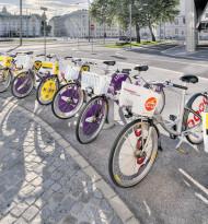 1.500 Fahrräder an 121 Stationen