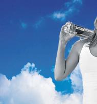 Schwerelosigkeit mit smartwater