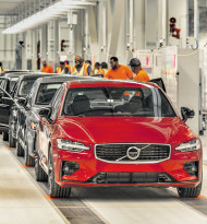 Volvo enthüllt neue Premium-Limousine S60