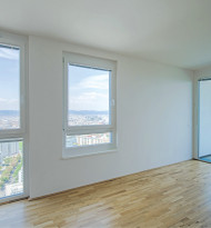 Das höchste Wiener Wohnhaus ist fertig
