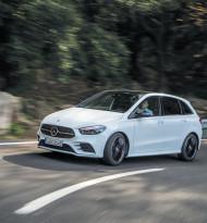 Mercedes runderneuert die B-Klasse