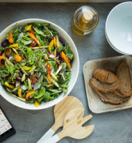 Runtasty-Speisen im Gourmet À la Carte-Sortiment