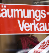 Einzelhandel: 2019 erstmals mehr Schließungen als Eröffnungen geplant