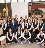 ITB 2019: Uniformen aus Wien für Tourismusschüler