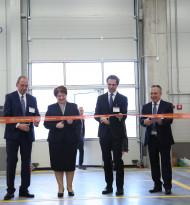 Logistikterminal in Tiflis offiziell eröffnet