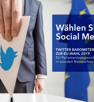 Twitter-Barometer zur EU-Wahl 2019