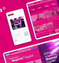 Tunnel23 launcht den neuen Digitalauftritt von Magenta