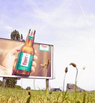 """Egger - """"Richtig gutes Bier"""" formatsprengend in neuem Gewand"""