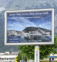 Achenseeschiffahrt legt mit Epamedia ab
