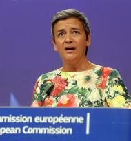 EU-Kommissarin Vestager - notfalls EU-Alleingang bei Digitalsteuer