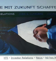 Nach Gruber & Kaja jetzt auch börsennotierte Mutter HTI insolvent