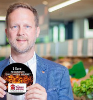 """Lidl: 10.000 Euro für """"Ein Funken Wärme"""""""