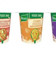 Knorr bringt neue Snacks auf den Markt