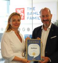 """Bahlsen mit """"Superbrands Austria 2019""""-Zertifikat ausgezeichnet"""