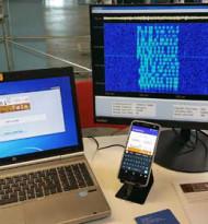 Sichere Datenübertragung mit Ultraschall am Handy