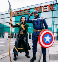 Die VIECC Vienna Comic Con wartet zum 5. Jubiläum mit Stars aus Film, Comic und Cosplay auf