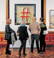 Der versteckte Kuss Klimts