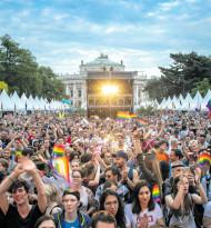Ein Regenbogen über Wien: EuroPride 2019