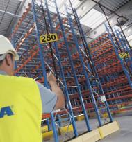 Ikea-Logistikzentrum vor der Einweihung