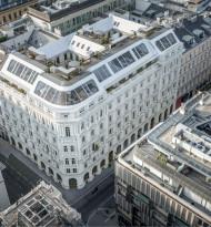 Moderne Architektur in historischem Ambiente
