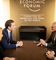 ABB Führungsdelegation traf Bundeskanzler Kurz in Davos