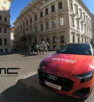 Porsche Werbemittlung erscheint mit neuem Namen und neuer CI