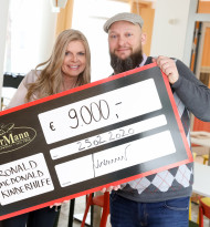 Bäckerei Der Mann: Spendenübergabe von 9.000 Euro für die Ronald McDonald Kinderhilfe