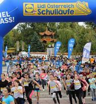 """Lidl Österreich Schulläufe: Die """"Lidl 1.000 Meter Challenge"""""""