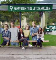 FH Kufstein wirbt mit eigenen Studierenden