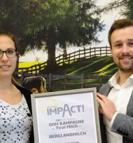 Regio-Impact für Jänner geht an Tirol Milch