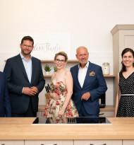 SchlossStudio von Blogger-Ikone Verena Pelikan feierlich im Schloss Coburg zu Ebenthal eröffnet