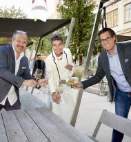 K.S.-Circle-Saisonauftakt bei Andreas Fuith - outdoor statt indoor