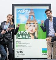 "Neue Kampagne ""Fly next Level"""