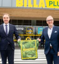 Billa-Plus ab sofort auf rund 1.600 m2 Nahversorger in Weppersdorf