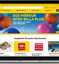 rosenberg gp zeichnet für Relaunch der Billa-Website verantwortlich