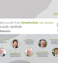 VBV im Diskurs | Mit Nachhaltigkeit aus der Krise: Umweltschutz neu denken