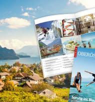 """""""Kurier"""" wagt im Magazin """"Oberösterreich"""" den """"Sprung ins Blaue"""""""